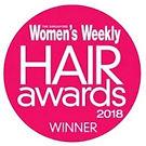 Logo of Women's Weekly Hair Awards 2018 where Naturia keratin treatment & cinderella treatment received accolades