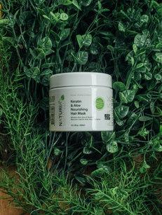 NATURIA Organic Keratin & Aloe Nourishing Hair Mask (300ml)