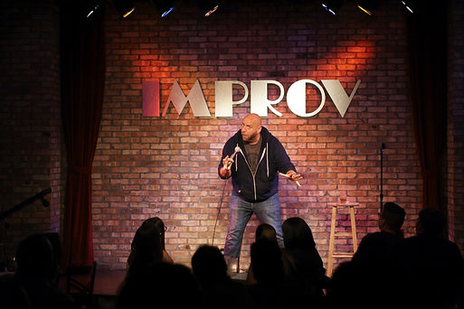 Headlining the Orlando Improv