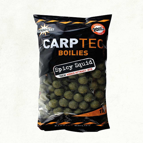 Cartec Spicy Squid 15mm Boilies