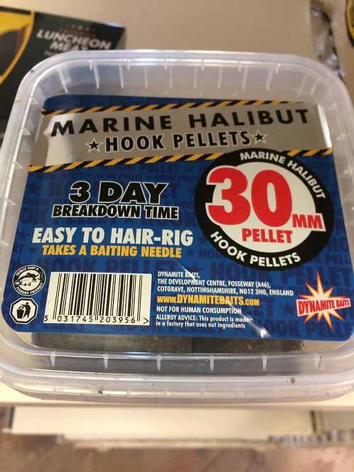 Marine Halibut Hook Pellets 30mm