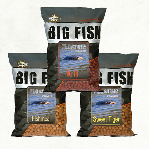 Big Fish krill floating pellets