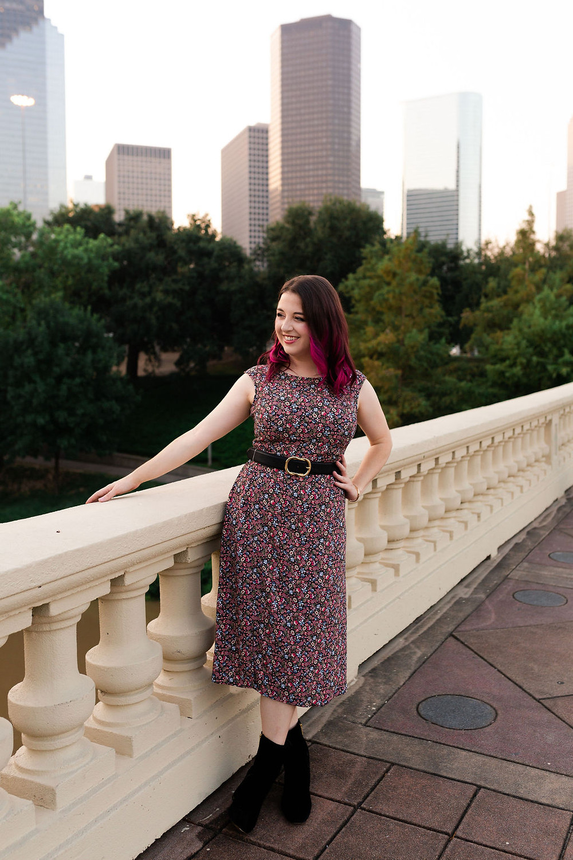 Wardrobe Stylist Ashley Kahn based in Houston TX, also sees clients in Dallas, Austin, and San Antonio TX