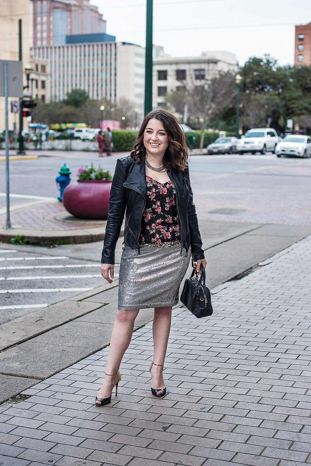 Personal Stylist in Dallas TX shares how to wear a sequin skirt