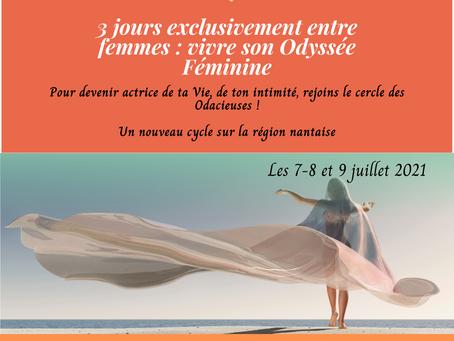 3 Jours exclusivement entre femmes - stage animé par Stéphanie Le Bris - 7-8-9 Juillet 2021
