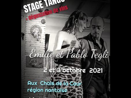 STAGE DE TANGO ARGENTIN AVEC PABLO & EMILIE TEGLI
