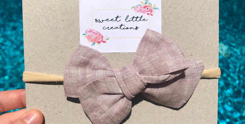 Dusty Pink 'Hadley' Bow