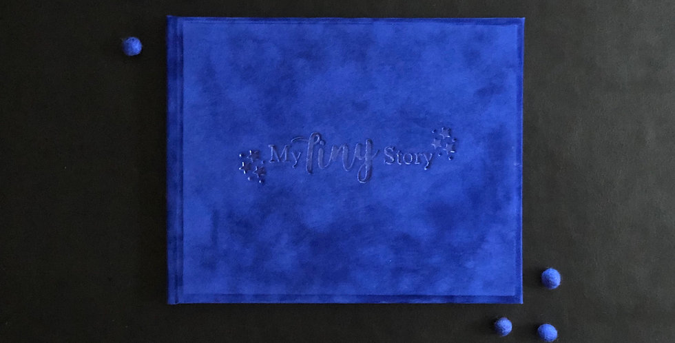 Blue Suede Baby Journal
