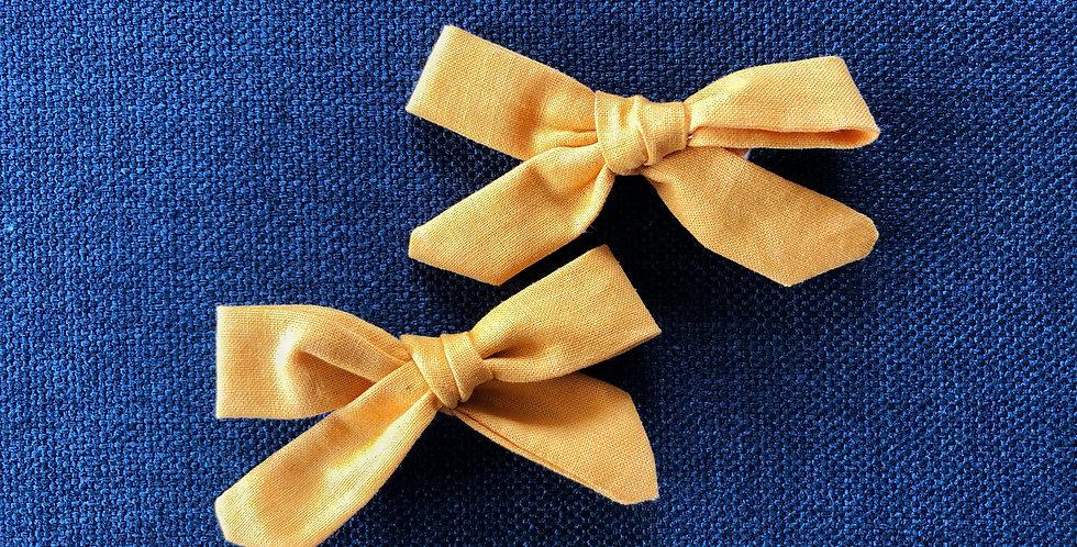 Mustard 'Summer' Piggytail set