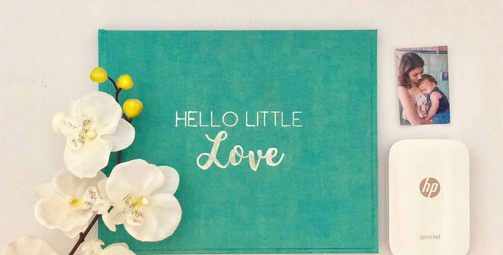 Teal Baby Journal