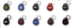 Custom RFID 24/7 gym fobs