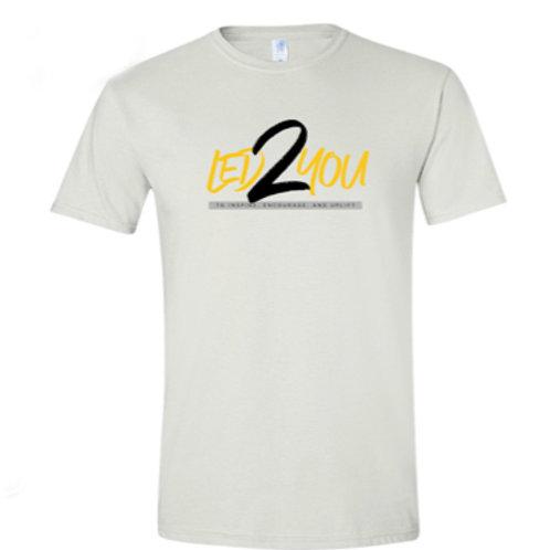 Led 2 You Tee Shirt (White)