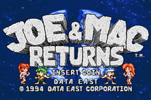 Pixel Pastime - Joe & Mac Returns Arcade