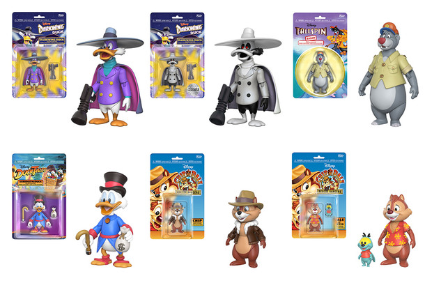 Disney Afternoon Figures Coming Soon!