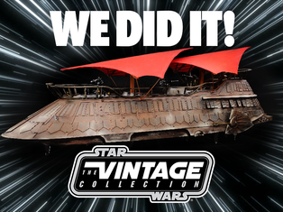 We Did It! Jabba's Sail Barge Gets Funded!