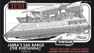 The Barge is almost here!