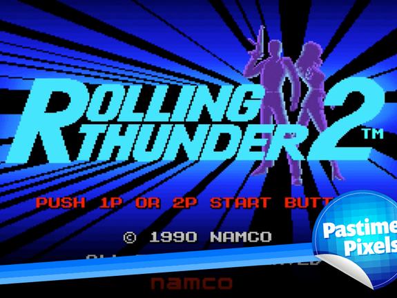 Pastime Pixels - Rolling Thunder 2 Arcade
