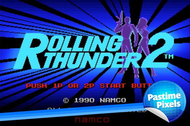 Pastime Pixels - Rolling Thunder 2 Arcade