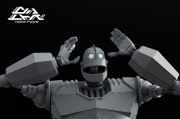 "Now Pre-ordering New 6"" Die-cast Iron Giant Figure"