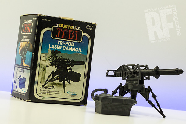 Retro Review - Star Wars Tri-Pod Laser