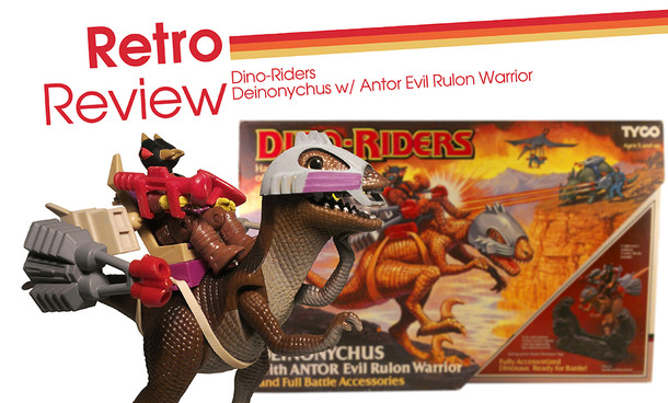 Retro Review - Dino-Riders Deinonychus