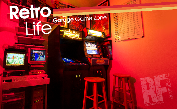 Retro Life - My Gar-cade... Small space, No Problem.