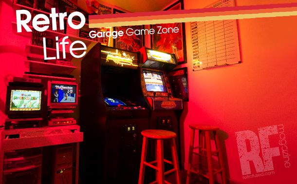 Retro Life - My Gar-cade... Small space, No Problem.