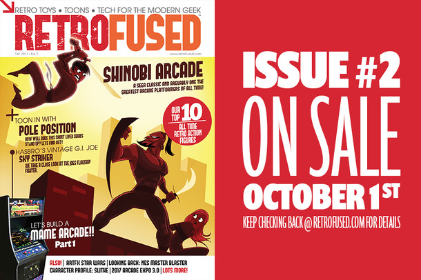 RetroFused Issue #2 On The Way!