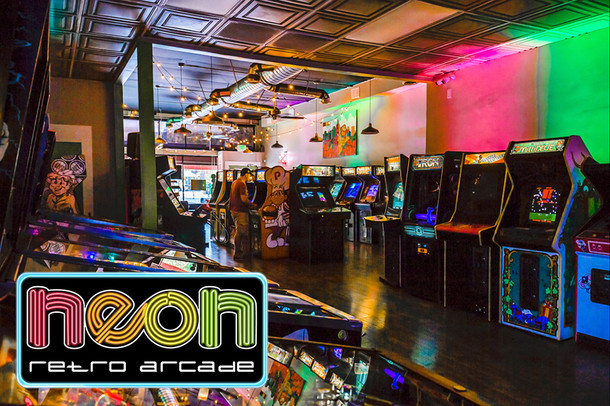 New Retro Arcade Opens In L.A.