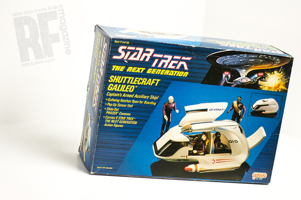 Retro Review - 1989 Shuttlecraft Galileo