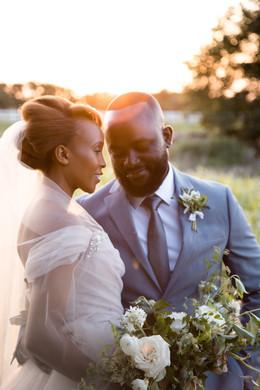 wedding photography kansas city - Candid Bride and Groom