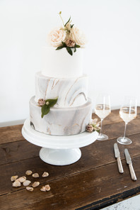 Wedding Reception Photography Wedding Cake