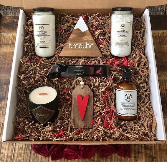 Couples Luxury Self Care Gift Box