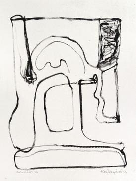 Anne Kari Ødegård / Resonans / Litografi / Opplag 6 ex / Motivformat: 25 x 33 cm / kr 1.500