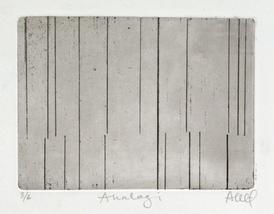 Anne Kari Ødegård / Analogi / Etsning / Opplag: 6 ex / Motivformat: 12,5 x 9 cm / kr 1.200
