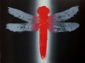 Qianzhi Zeng / Dragonfly #3 / 67 x 56 cm / litografi / kr 5.800