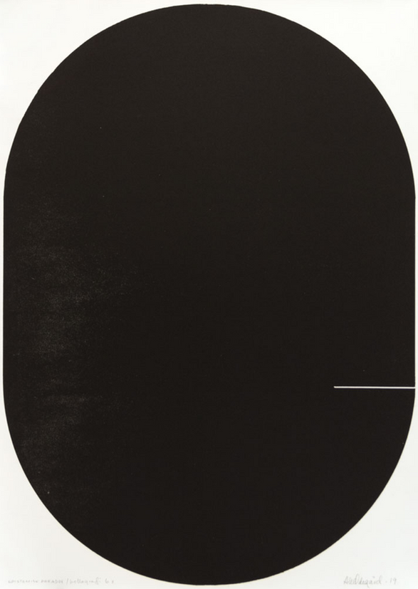 Anne Kari Ødegård / Epistemisk paradox / kollografi / motivformat 51 x 71 cm / opplag 6 ex / kr 4500