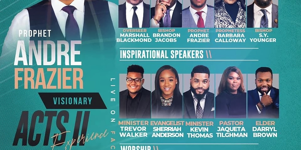 """Power Surge Revival 2021 """"ACTS II Experience"""""""