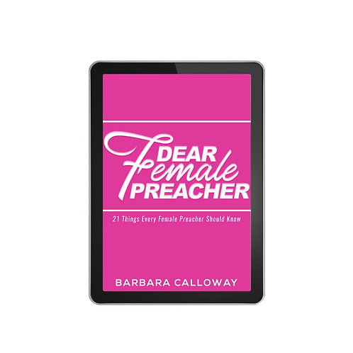 Dear Female Preacher - 21 Things Every Female Preacher Should Know E-Book