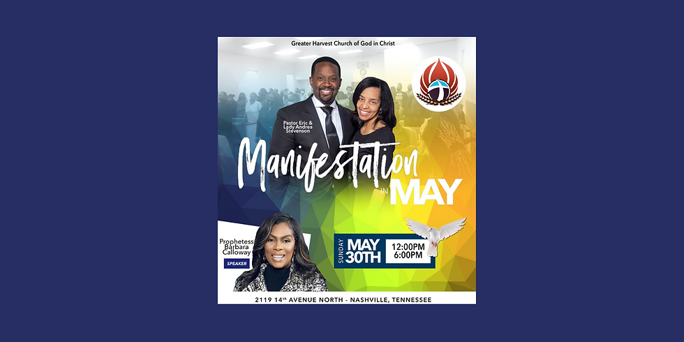 In- Person Manifestation in May