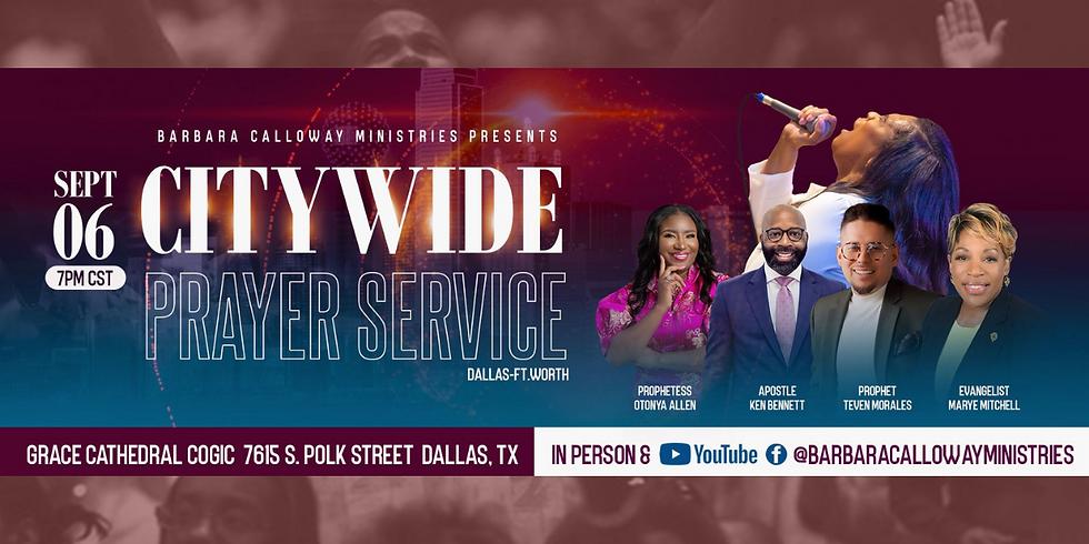 In-Person-City Wide Prayer Service
