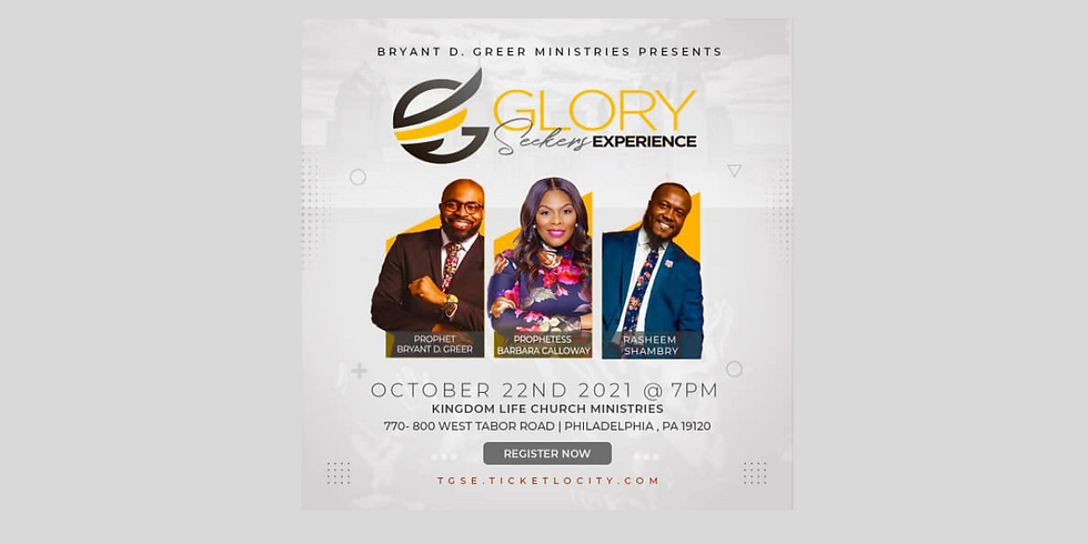 In Person-Bryant D. Greer Ministries