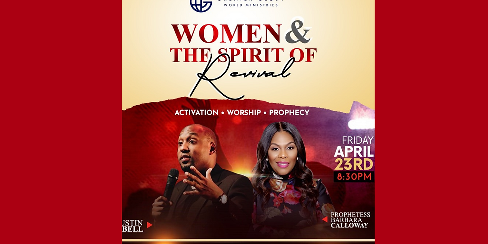 In-Person Women & The Spirit of Revival