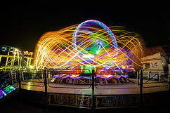 Lightrails from the fair