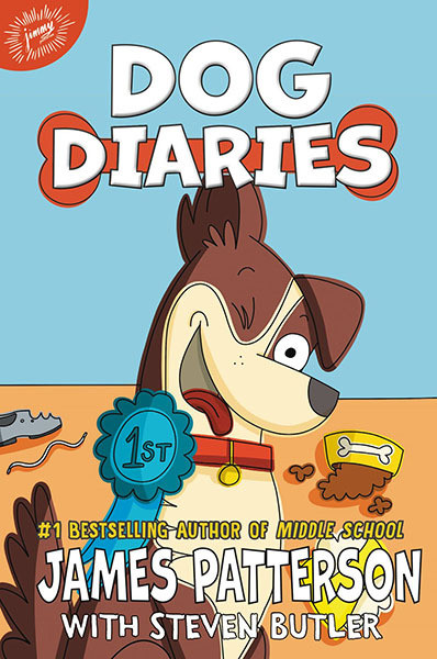 Dog Diaries: A Middle School Story by James Patterson with Steven Bulter