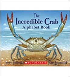 The Incredible Crab Alphabet book by Jerry Pallotta and Tom Leonard