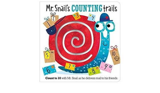 Mr. Snail's COUNTING Trails by Make Believe Ideas
