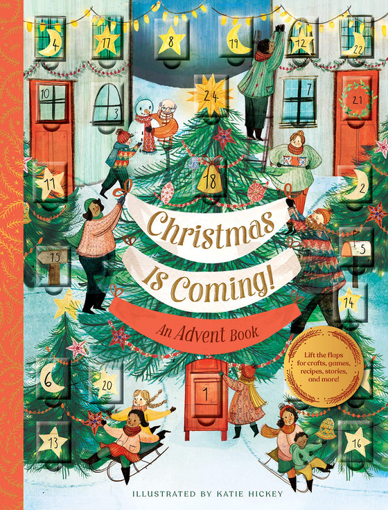 Christmas is Coming an Advent Calendar Book from Chronicle Books
