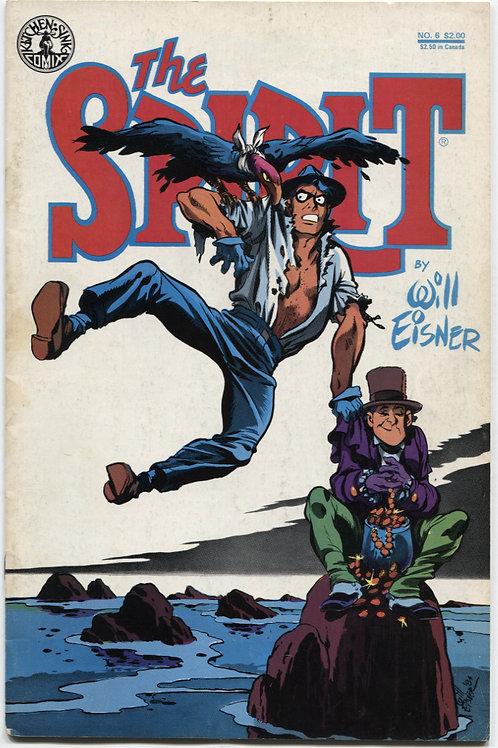 Will Eisner's The Spirit #6