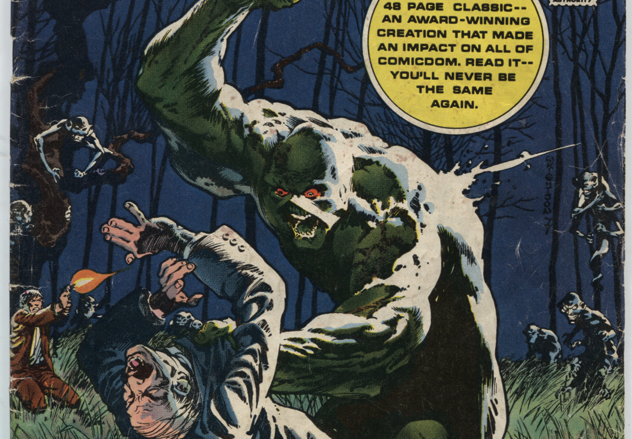 Swamp Thing Saga 1